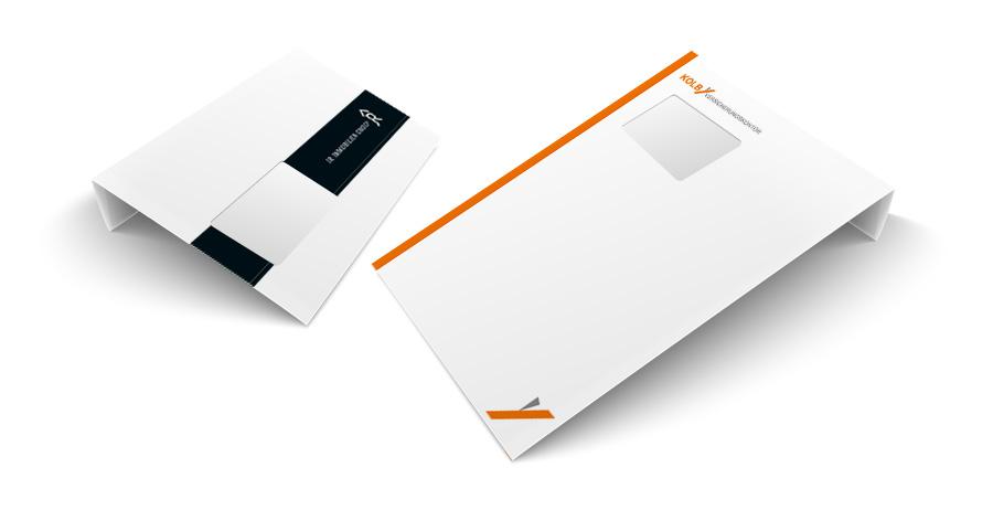 Briefumschlag Drucken Dinlang C4
