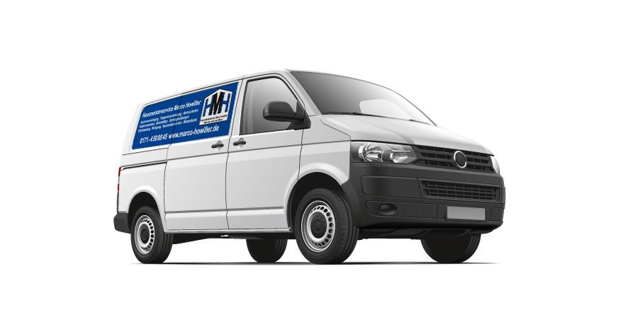 Transporter Beschriften Logo Auto