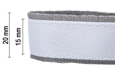 lanyard schluesselband bedrucken band auf band 20mm unterband 15mm Oberband premium lanyard guenstig drucken konfigurieren