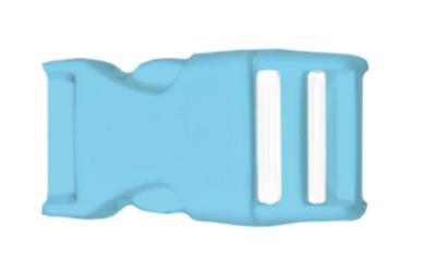 lanyard schluesselband schluesselanhaenger bedrucken kunststoff verschluss farbig babyblau hellblau premium lanyard guenstig drucken konfigurieren