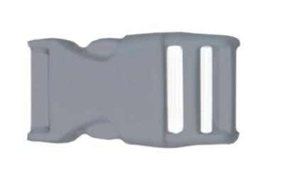 lanyard schluesselband schluesselanhaenger bedrucken kunststoff verschluss farbig hellgrau grau premium lanyard guenstig drucken konfigurieren