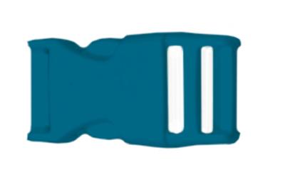 lanyard schluesselband schluesselanhaenger bedrucken kunststoff verschluss farbig petrol blau premium lanyard guenstig drucken konfigurieren