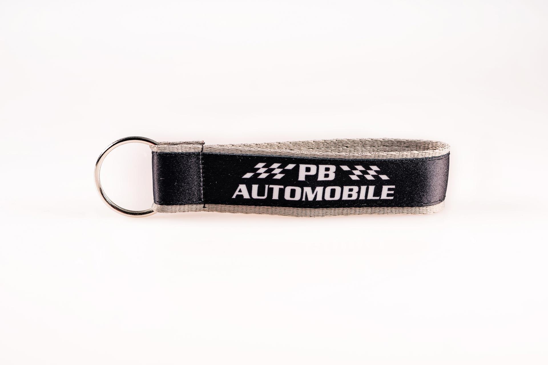 Schluesselanhaenger Bedrucken Logo Filz Alternative Shortstrap Guenstig Kaufen 25mm Doppelband Band Auf Band Satinband Schwarz Grau