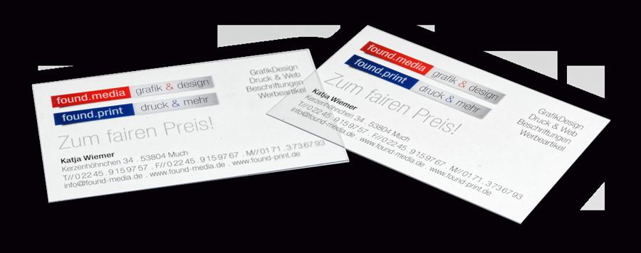 Transparent Pvc Visitenkarten Guenstig Drucken Design Overath Koeln Nrw